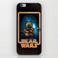 Bear Wars - Raider iPhone & iPod Skin