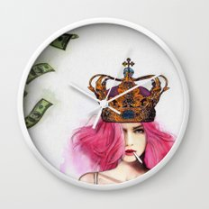 Queen Bitch Wall Clock