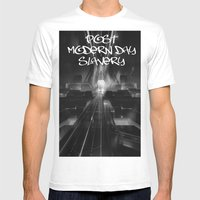 FOCUS INTENT Mens Fitted Tee White SMALL