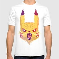T-shirt featuring Voltage Pikachu by Head Glitch