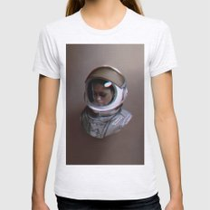Spacewalker, The 100 Womens Fitted Tee Ash Grey SMALL