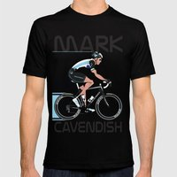 Mark Cavendish Mens Fitted Tee Black SMALL