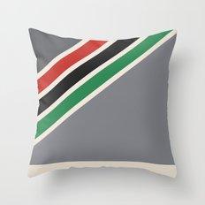 vhs box1 Throw Pillow
