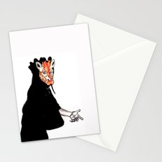 Giraffe Mask Stationery Cards