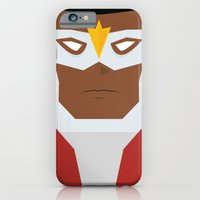 iPhone & iPod Case featuring Falcon by Shakeel