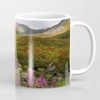 Fireweed Valley Alaska - Mountian Landscape Mug