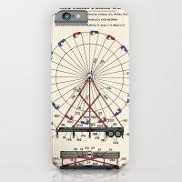 Amusement Ride Patent iPhone 6 Slim Case