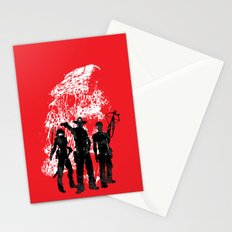 Waiting For The Dead Stationery Cards