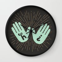 Hi Fives Wall Clock