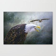 Eagle territory Canvas Print
