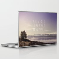 peace Laptop & iPad Skins featuring Peace by Leah Flores