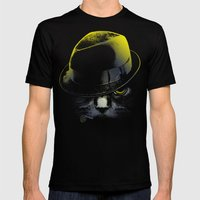 The Alley Cat Mens Fitted Tee Black SMALL