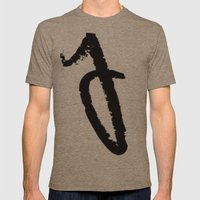 letters Mens Fitted Tee Tri-Coffee SMALL