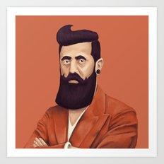 The Israeli Hipster Lead… Art Print
