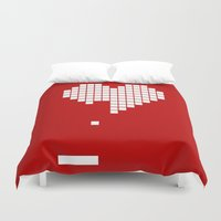 Arknoid Heart Duvet Cover