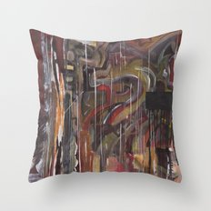 Abstract 2014/12/13 Throw Pillow
