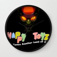 Happy Toyz (Alternate) Wall Clock