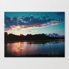 Summer's Farewell Canvas Print