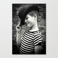 Juvenile Jazz 1 Canvas Print