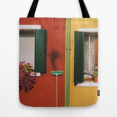 Clean Color Tote Bag