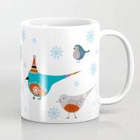 Winter Pattern3 Mug