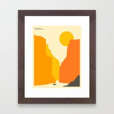 BIG BEND NATIONAL PARK Framed Art Print
