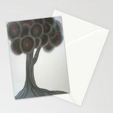 Krishnachura tree Stationery Cards