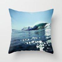 Estuary Light Flares Throw Pillow