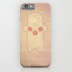 Christmas creatures- The Loving Bear iPhone 6 Slim Case