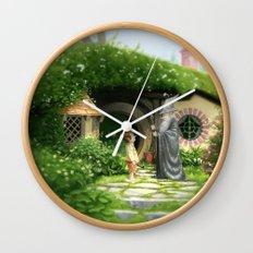 Unwelcome Company Wall Clock