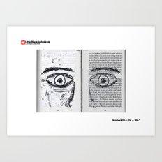 #23 & #24 - Be Art Print