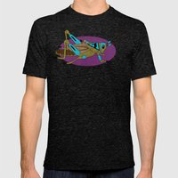 Grasshopper Mens Fitted Tee Tri-Black SMALL
