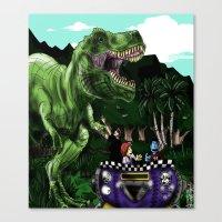 Em's Dino Adventure Canvas Print
