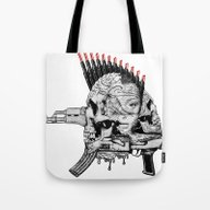 She's Not Afraid The Ter… Tote Bag