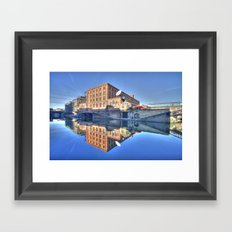 Camden Lock Framed Art Print