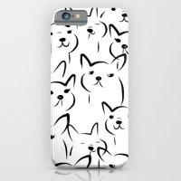 Mate,Friends,French bulldog iPhone 6 Slim Case