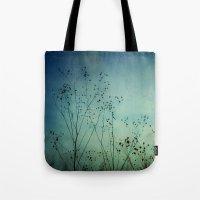 Fleeting Moment - Blue Shades Tote Bag