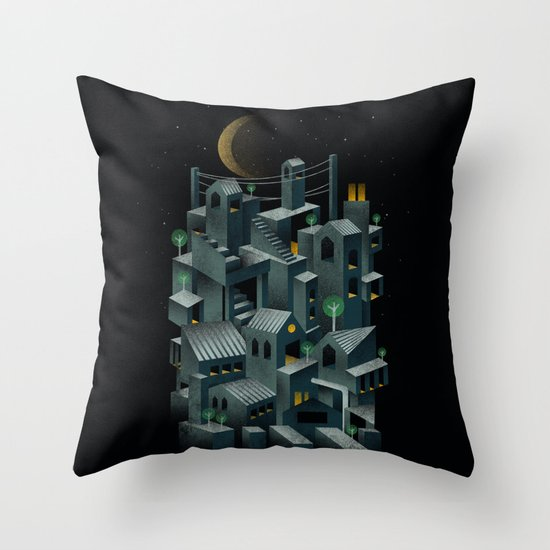 The City Throw Pillow
