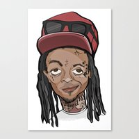 Weezy Canvas Print