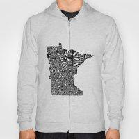 Typographic Minnesota Hoody