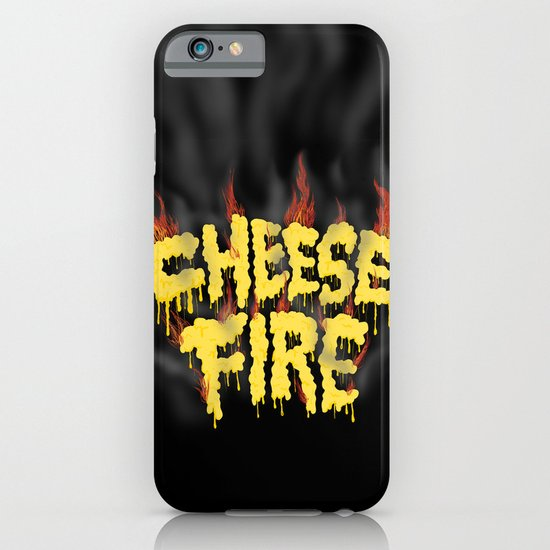 CHEESE FIRE!!! iPhone & iPod Case
