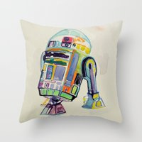 R2 Throw Pillow