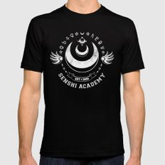 Senshi Academy Black Mens Fitted Tee SMALL