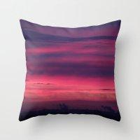 Urban Dawn Throw Pillow