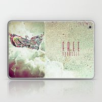 Free Yourself Eagle Laptop & iPad Skin