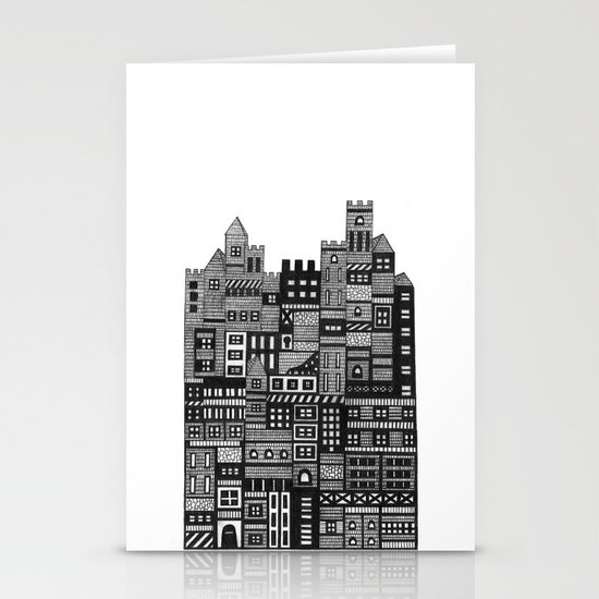Castle Infinitus Stationery Card