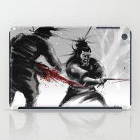 Samurai fight iPad Case