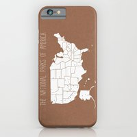 iPhone & iPod Case featuring The Hand-Painted National Parks of America by the bocket store
