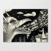 Reawakened Canvas Print