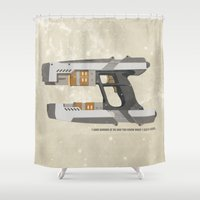 STAR LORD - PETER QUILL Shower Curtain
